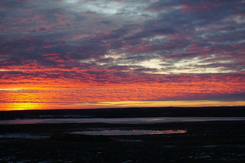 Sunset, Cambridge Bay, Nunavut, 2015_credit Heather Dewar.jpg
