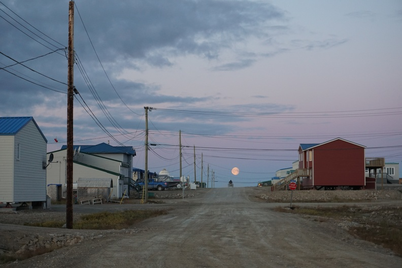 Streetscape with moon, Cambridge Bay, Nunavut, 2015_credit Heather Dewar.jpg