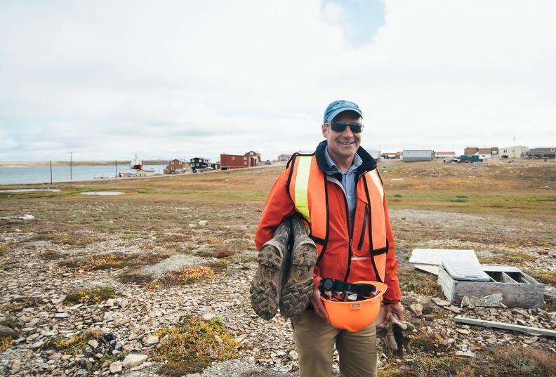 POLAR president David Scott, Cambridge Bay, August 2017_credit Natta Summerky.jpg
