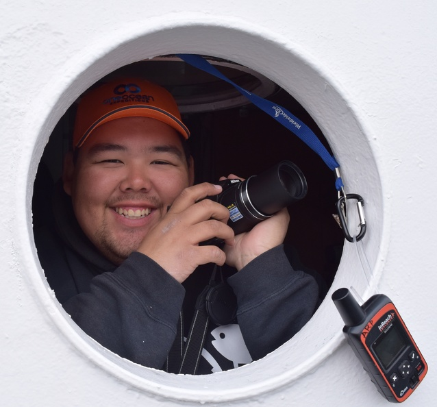 POLAR field technician Angulalik Pedersen, 2015_credit POLAR.JPG