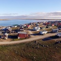 Panorama of Cambridge Bay, / Vue panoramique de Cambridge Bay
