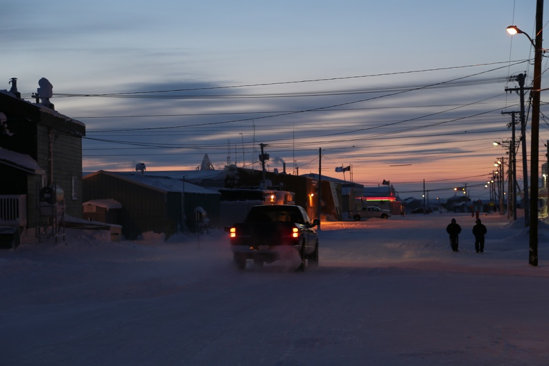 Nightfall, Cambridge Bay, Nunavut, March 2013_Donald McLennan, POLAR.jpg