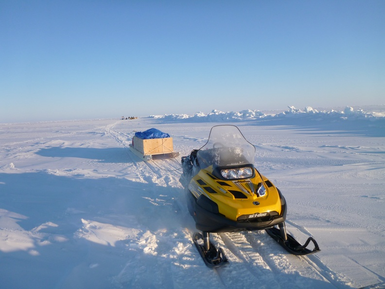 Snowmobile with sled, February 2013_credit Donald McLennan.jpg