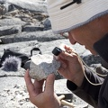 Geologist at work / Géologue au travail