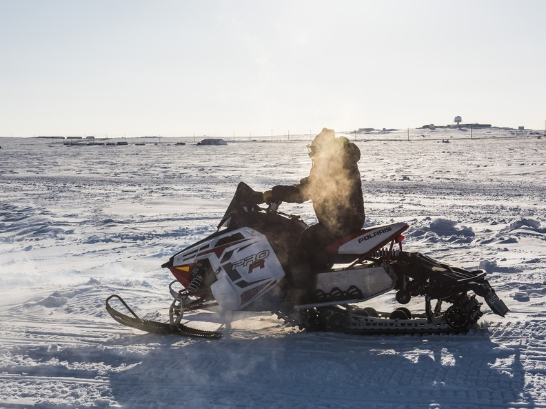 Man on snowmobile, Cambridge Bay, 2018_Alex Fradkin.JPG